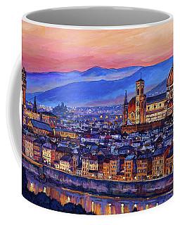 Florence At Night Coffee Mug