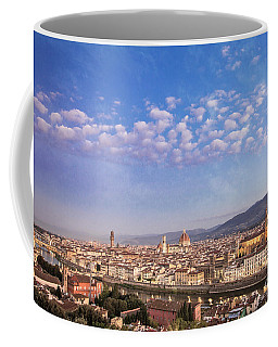 Coffee Mug featuring the photograph Florence Skyline by Scott Kemper