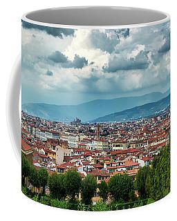 Florentine Cityscape From The Boboli Gardens Coffee Mug
