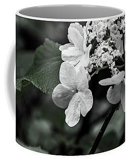 Flower And Rain Drops  8645 Coffee Mug