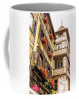 Flower Boxes Strasbourg Coffee Mug
