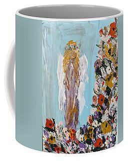 Flower Child Angel Coffee Mug