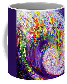 Flower Wave Coffee Mug