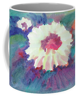 Coffee Mug featuring the painting Flowering Abstract 2 by Dobrotsvet Art