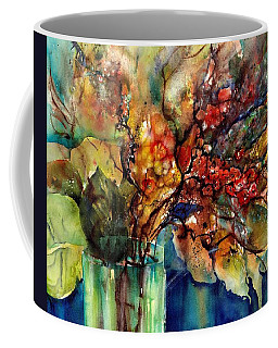 Flowers - Bouquet With Red Berries Coffee Mug