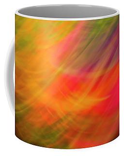 Flowers In Abstract Coffee Mug