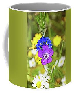 Flowers In The Meadow. Coffee Mug