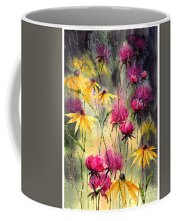 Flowers In The Rain Coffee Mug