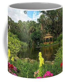 Flowers To Gazebo By The Lake Coffee Mug