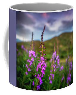Flowery Sunset Coffee Mug