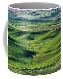 Flowing Green Coffee Mug