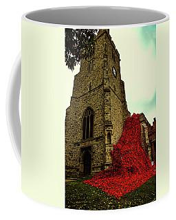 Flowing Poppies Coffee Mug