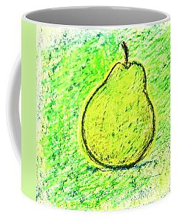 Fluorescent Pear Coffee Mug