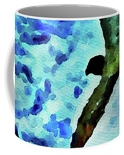 Coffee Mug featuring the painting Flying Seagulls by Joan Reese