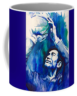 Coffee Mug featuring the painting Focus by Michal Madison