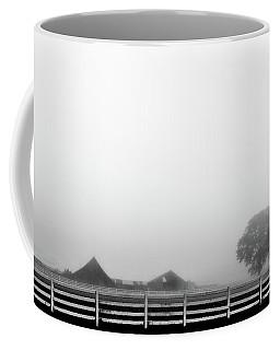Fog And The Farm Coffee Mug