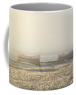 Fog On Lake Coffee Mug