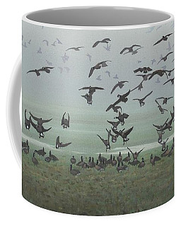 Foggy Arrival Coffee Mug