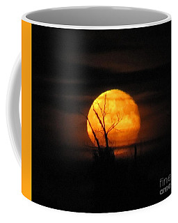 Foggy Harvest Moon Coffee Mug