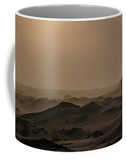 Foggy Morning In The Namib Desert Coffee Mug