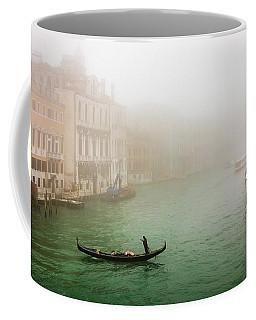 Foggy Morning On The Grand Canale, Venezia, Italy Coffee Mug