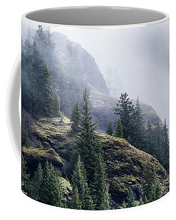 Foggy On Saddle Mountain Coffee Mug