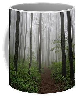 Foggy Spring Forest Coffee Mug