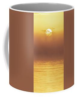 Foggy Wetlands Sunrise Coffee Mug