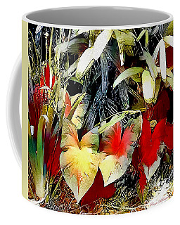 Coffee Mug featuring the digital art Foilage by Pennie McCracken