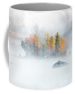 Foliage Burst At Leffert's Pond Vermont Coffee Mug