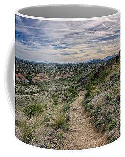 Following The Desert Path Coffee Mug