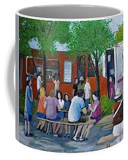 Food Truck Gathering Coffee Mug