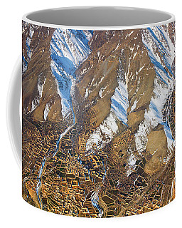 Coffee Mug featuring the photograph Foothill Settlements by SR Green