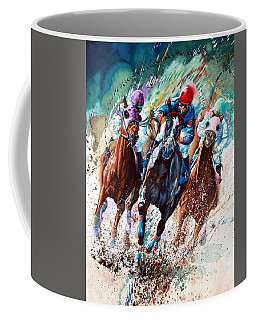 Horse Race Coffee Mugs