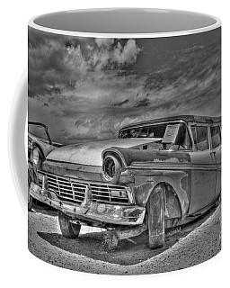 Ford Country Squire Wagon - Bw Coffee Mug