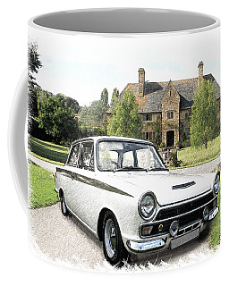 Ford 'lotus' Cortina Coffee Mug