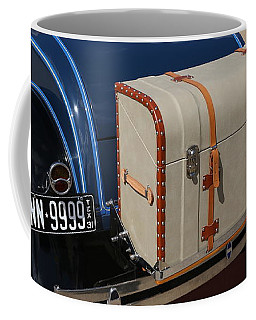 Coffee Mug featuring the photograph 1931 Ford Model A Roadster by Debi Dalio