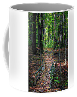 Forest Footbridge Coffee Mug