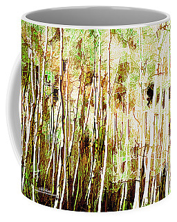 Coffee Mug featuring the digital art Forest For The Trees by Mike Braun