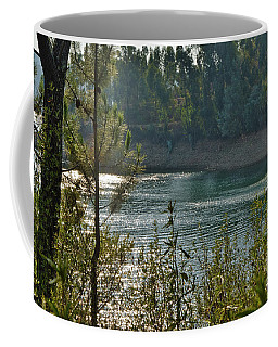Forest Lake In Amendoa Coffee Mug