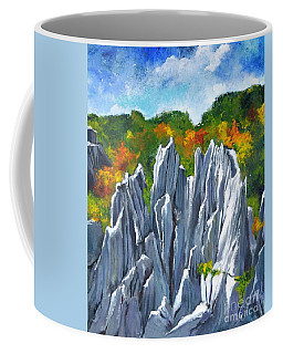 Forest Of Stones Coffee Mug