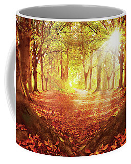 Autumn Forest Light Coffee Mug