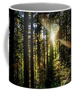Forest Sunburst Coffee Mug