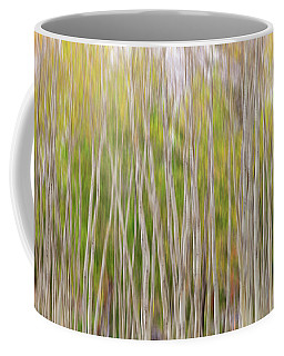 Coffee Mug featuring the photograph Forest Twist And Turns In Motion by James BO Insogna