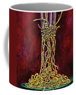 Fork To Mouth Coffee Mug