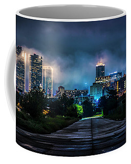 Coffee Mug featuring the photograph Fort Worth Lights by David Morefield