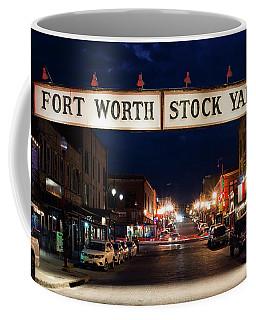 Fort Worth Stock Yards 112318 Coffee Mug