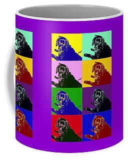 Foster Dog Pop Art Coffee Mug