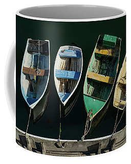 Four Dinghies Coffee Mug