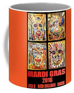 Four Happiness Coffee Mug